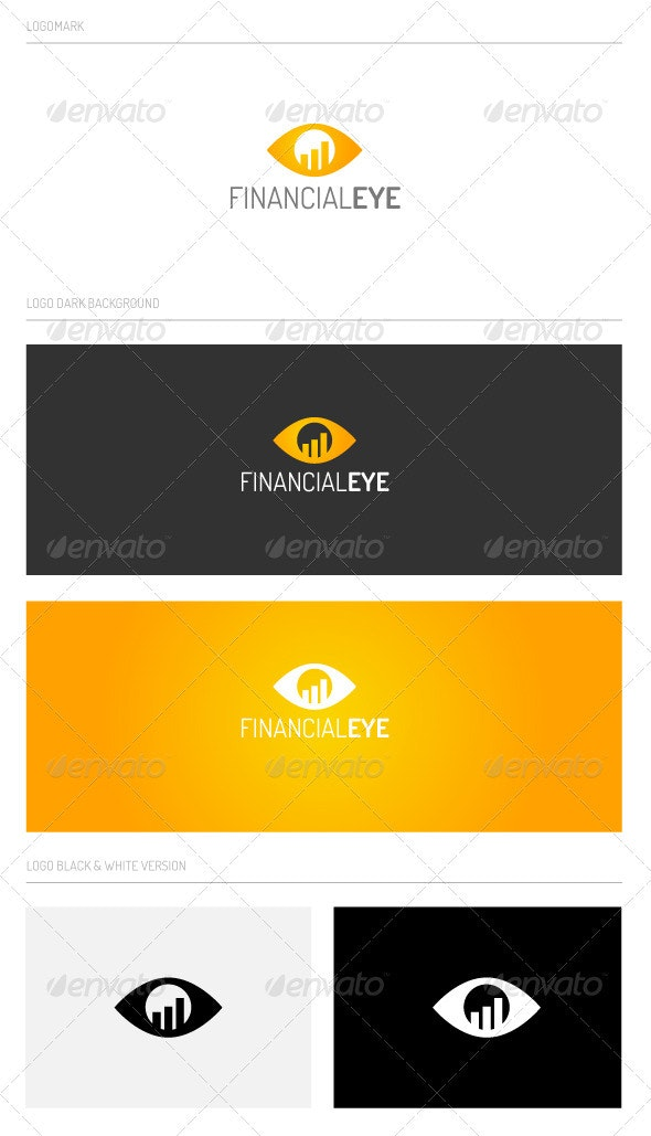 Financialeye - Symbols Logo Templates