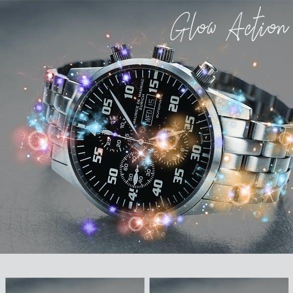 Glow - Photoshop Action