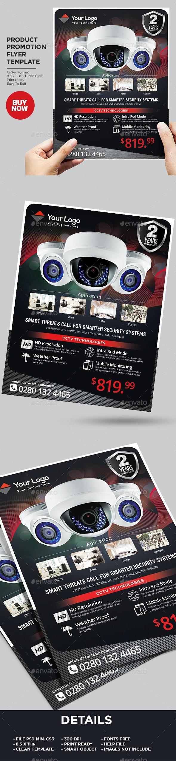 Product Sale Flyer - CCTV - Commerce Flyers