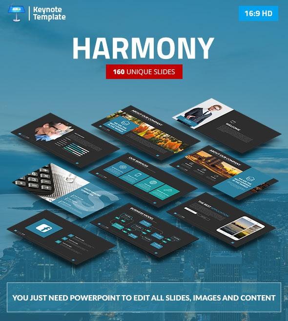 Harmony - Business Keynote Presentation Template - Business Keynote Templates