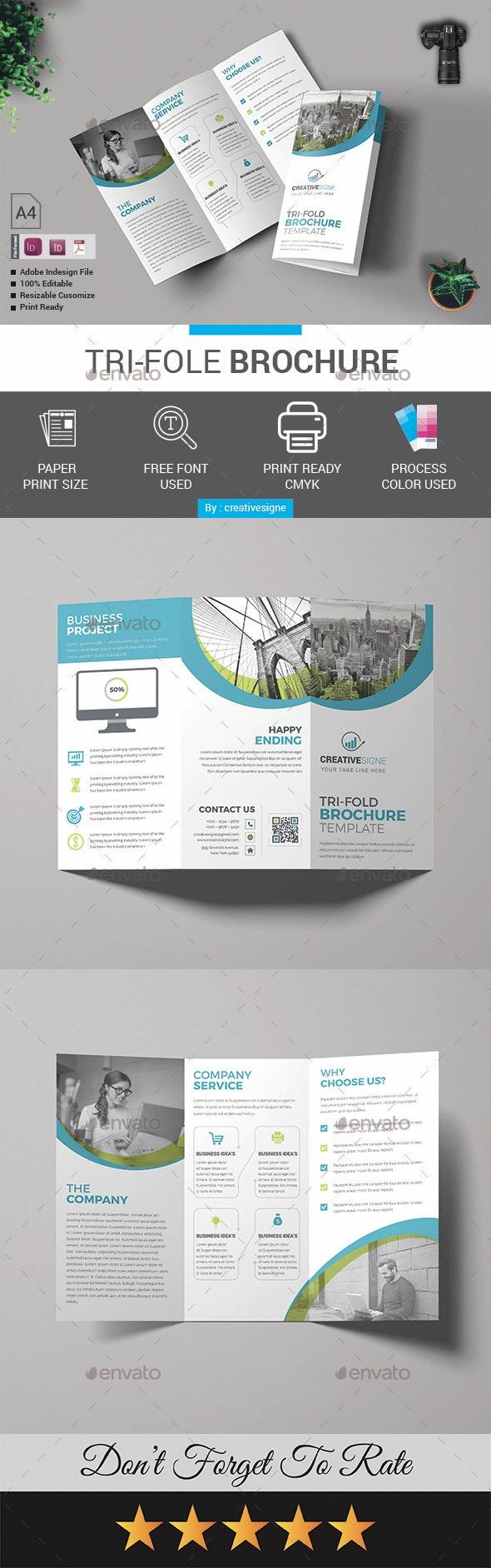 Ti-fold Brochure - Brochures Print Templates