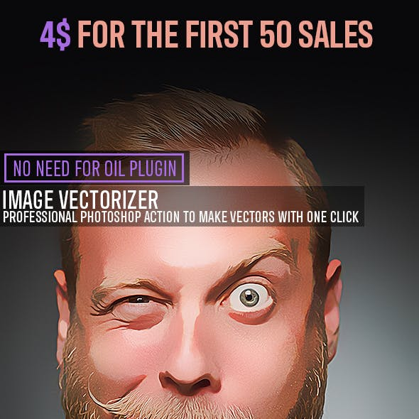 Vectorizer Photoshop Action