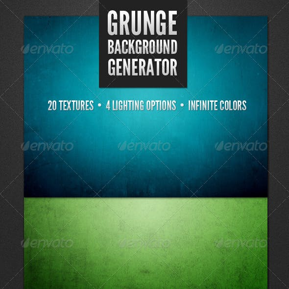 Modern Grunge Background Generator