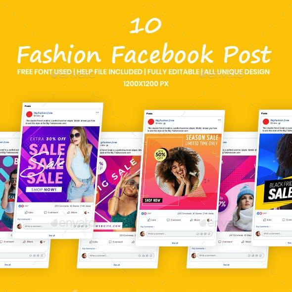 Fashion Facebook Post | Fashion Facebook Banner