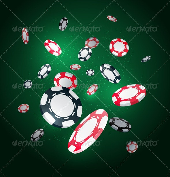 Poker Chips - Conceptual Vectors