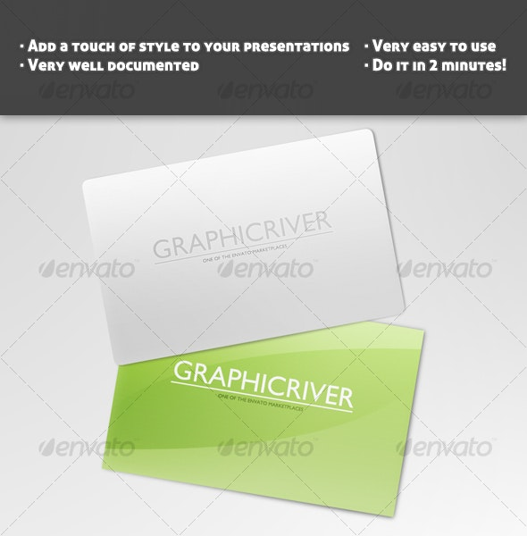 Business Card Template Mock Up - Business Cards Print