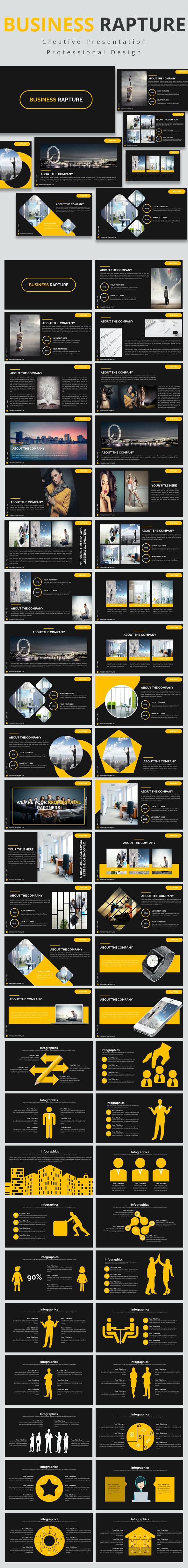 Business Rapture Powerpoint Template - Business PowerPoint Templates