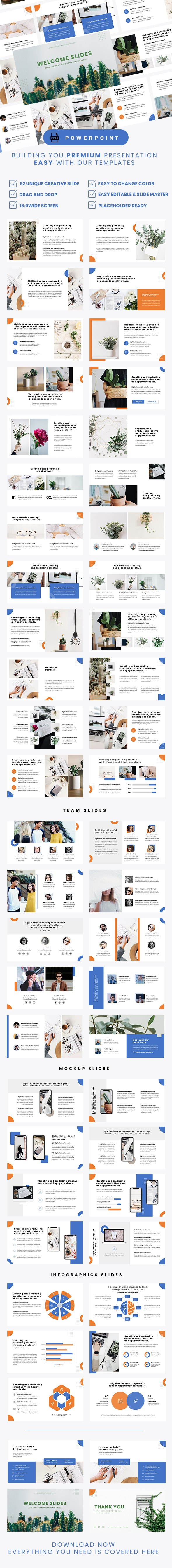 Bluedeck Powerpoint Template By Neaturevisual Graphicriver