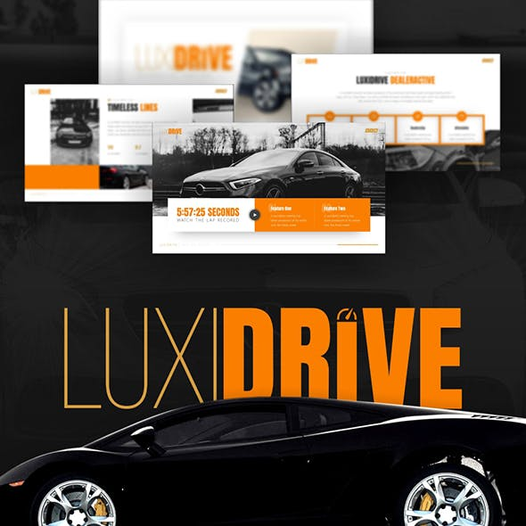 Luxidrive - Automotive Keynote Template