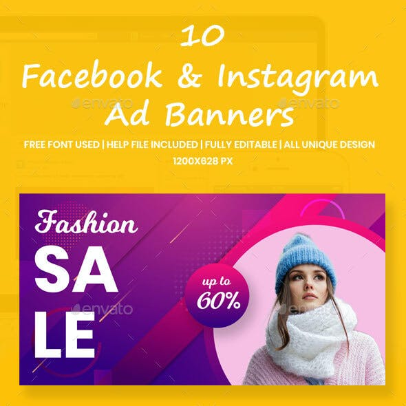 Facebook & Instagram Ad Banners