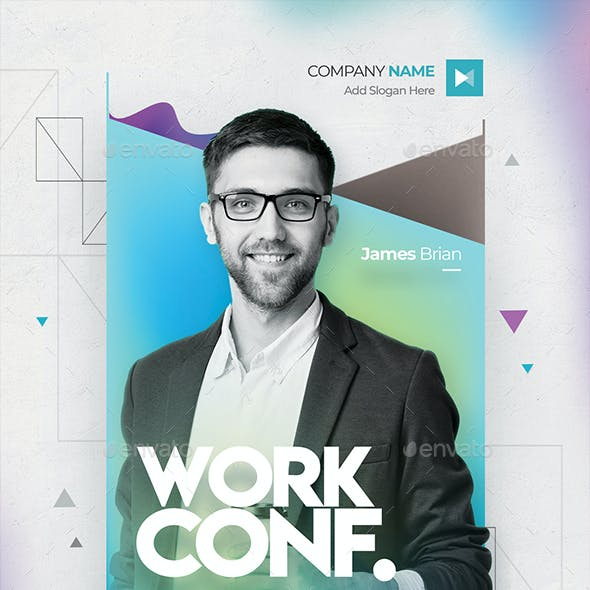 Creative Conference Flyer