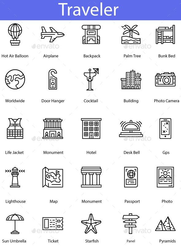Traveler - Icons