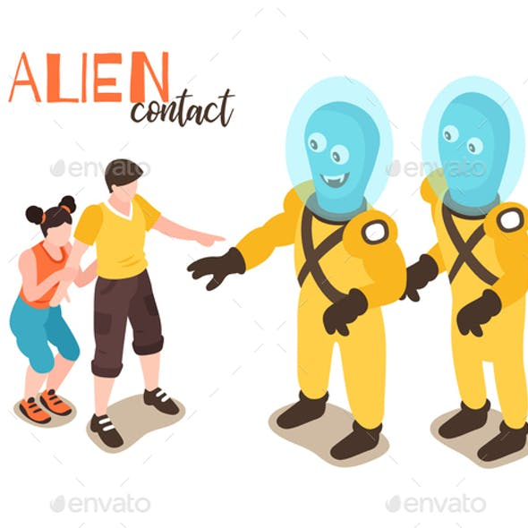 Alien Contact Design Concept