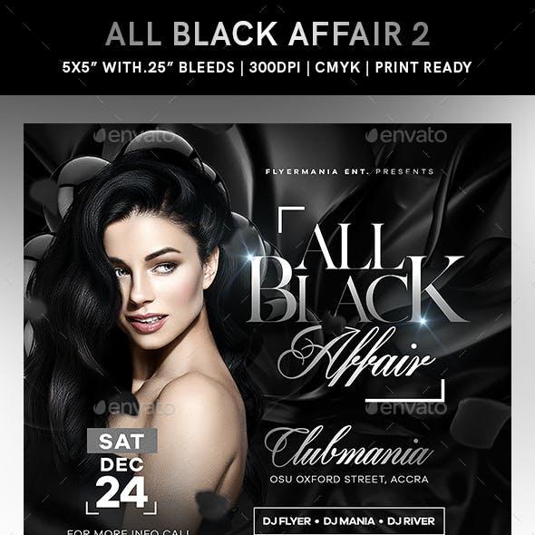 All Black Affair Flyer 2