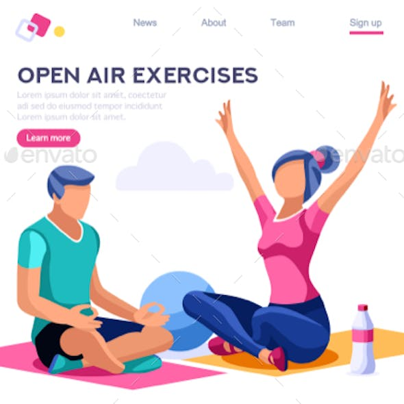 Relaxation Sport Together Activity