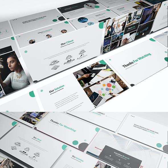 ISP Powerpoint Presentation Template