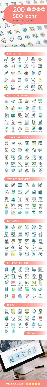 SEO Icons - Web Icons