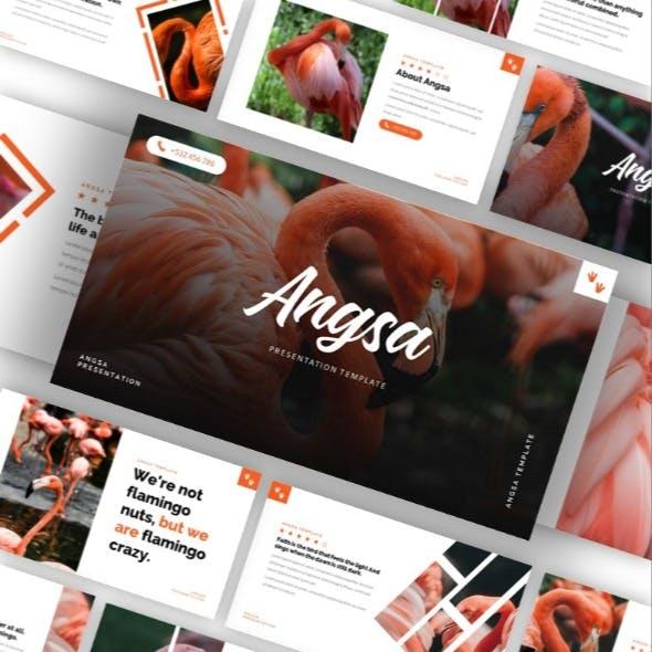 Angsa - Bird Animal Google Slides Template