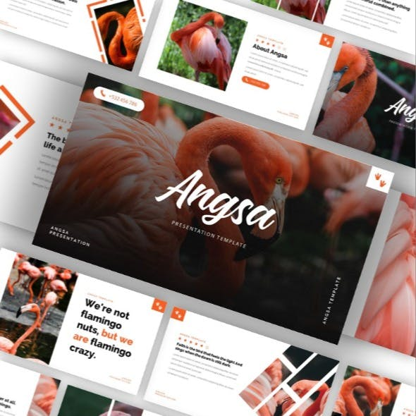 Angsa - Bird Animal Keynote Template