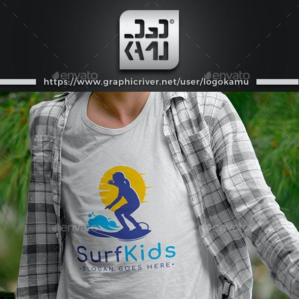 Surfer Kids Logo
