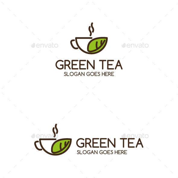 GreenTea Logo Template