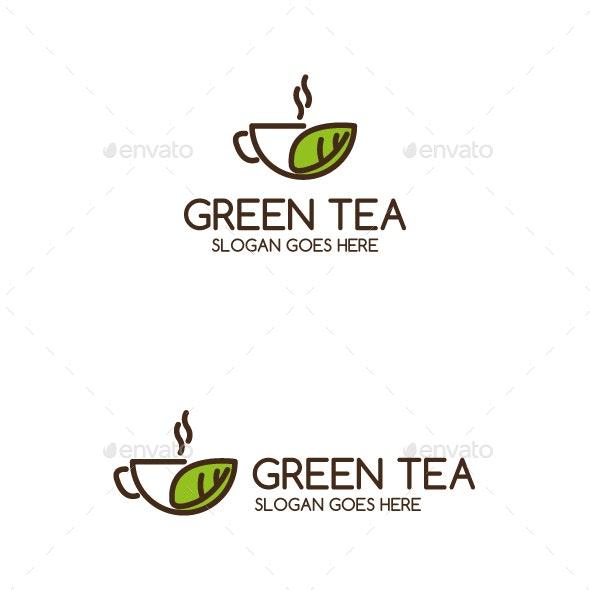 GreenTea Logo Template - Restaurant Logo Templates
