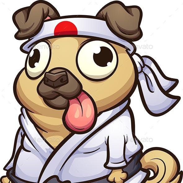Karate Pug