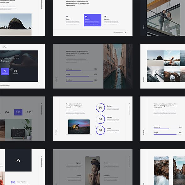 MPoint - Business & Minimal Template (PPTX)