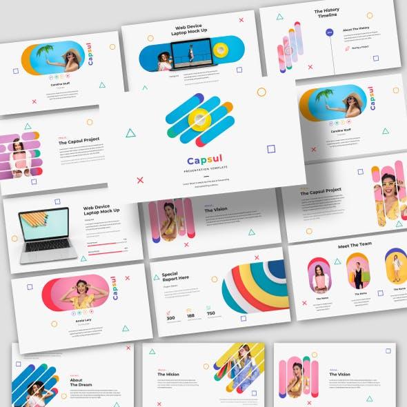 Capsul - Creative Powerpoint Template