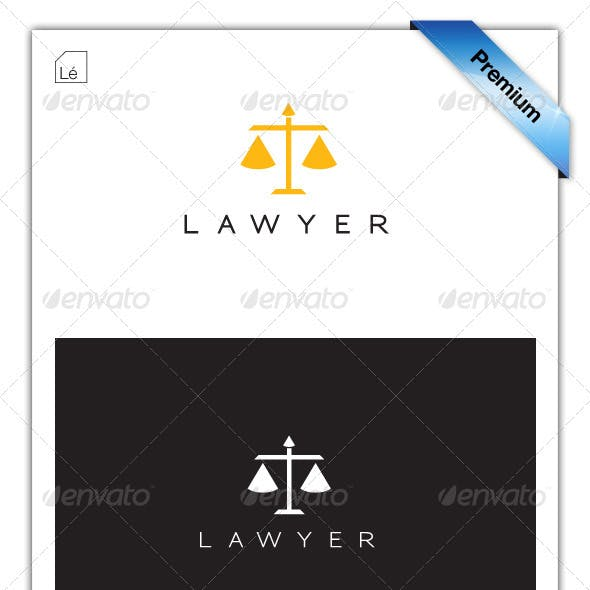 Legal Lawyer Law-Firm Justice Logo