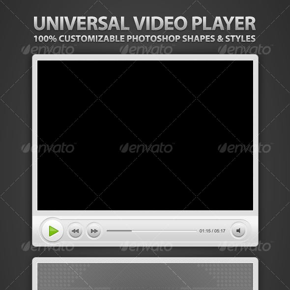 Super Clean Universal Video Player