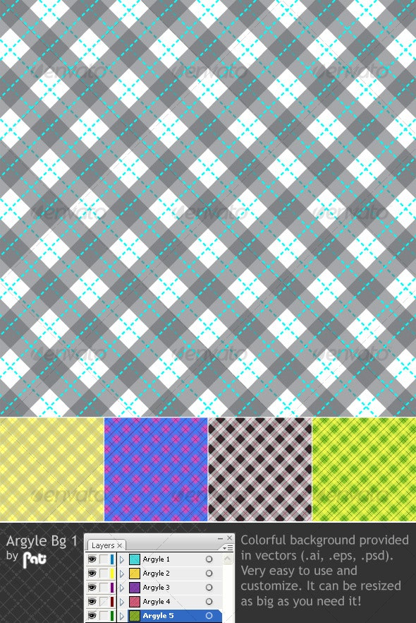 Argyle Bg 1 - Backgrounds Decorative