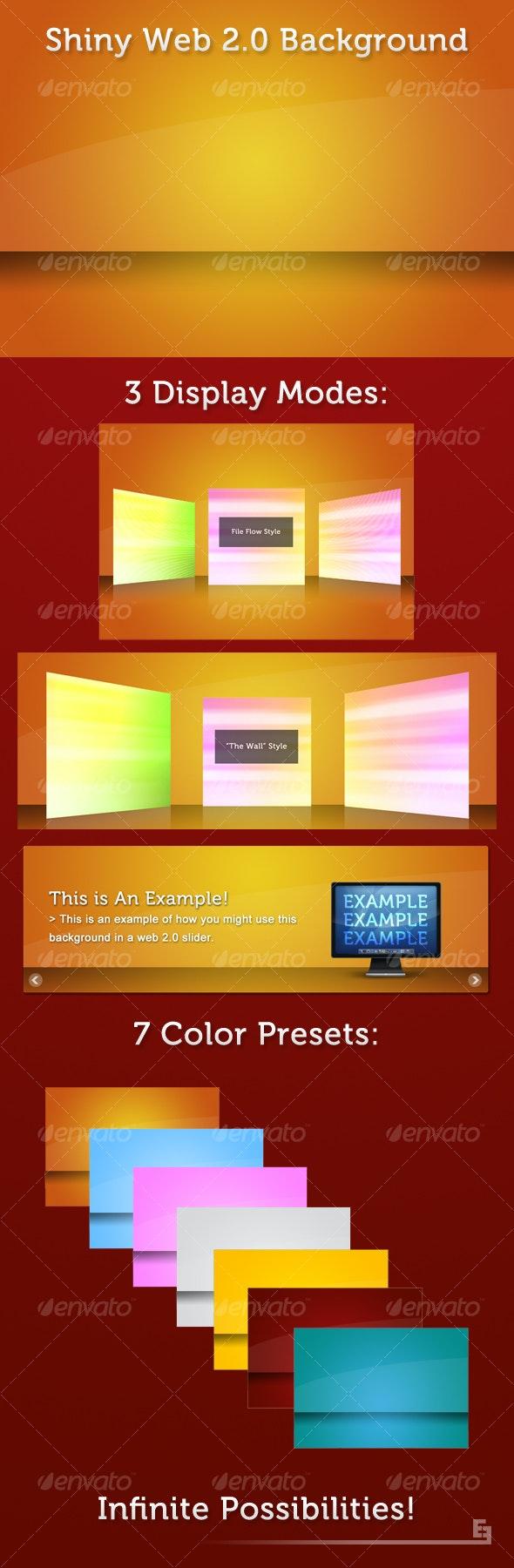 Shiny Web 2.0 Background - Tech / Futuristic Backgrounds