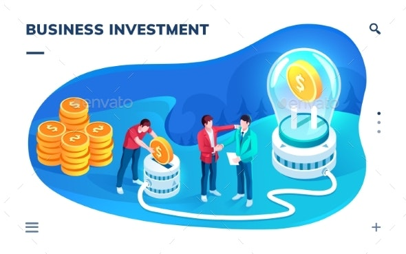 Application Screen for Business Investment - Concepts Business