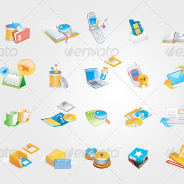 Office Icons Ver. 1