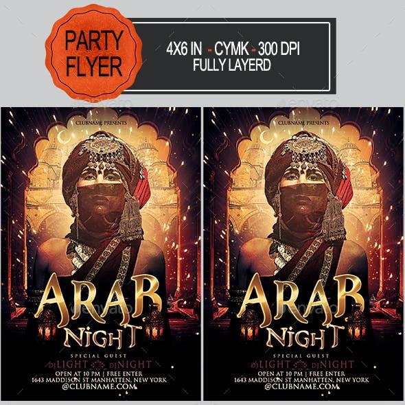 Arab Night Flyer