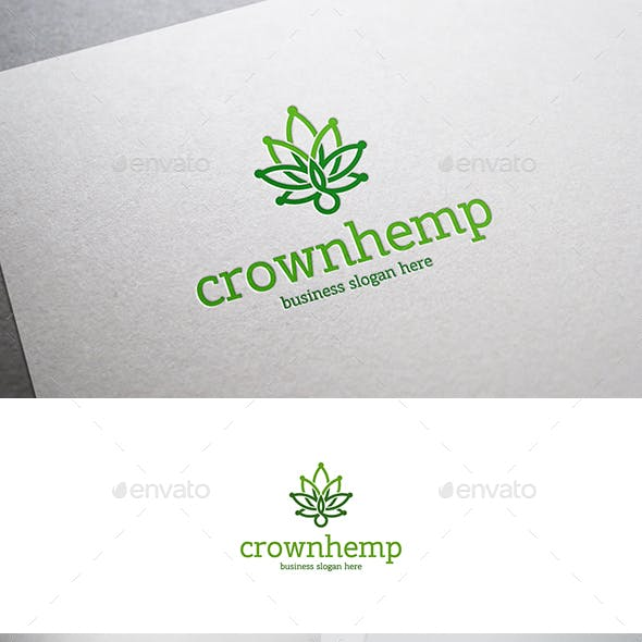 Crown Hemp Royal Cannabis Leaf