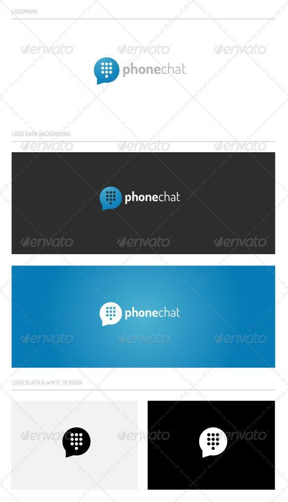 Phonechat - Abstract Logo Templates