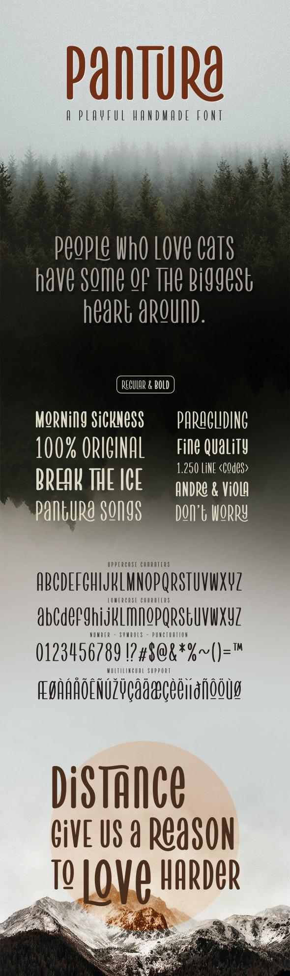 Pantura - Cool Fonts