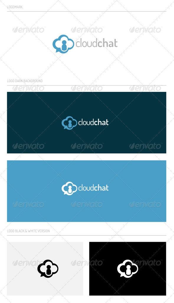cloudchat - Abstract Logo Templates