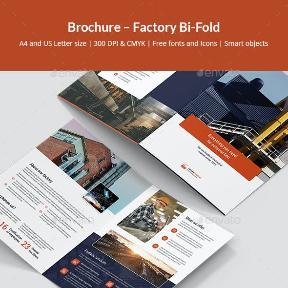 Brochure – Factory Bi-Fold