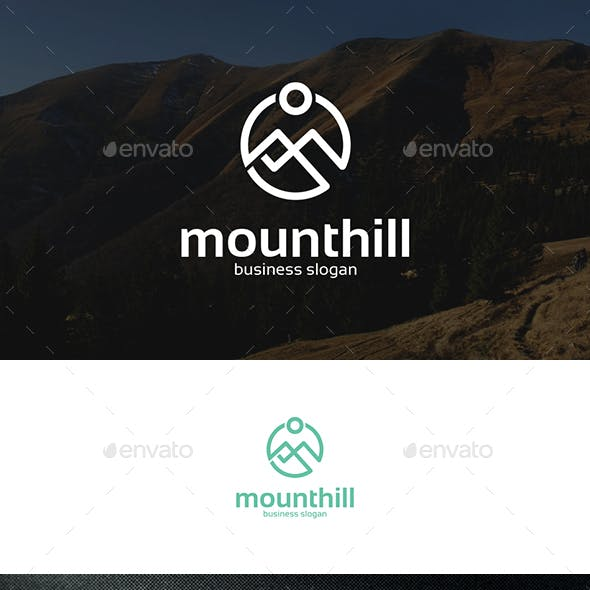 Mountains Hill Abstract Logo