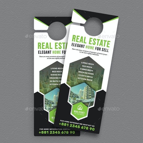 Real Estate Door Hanger V3