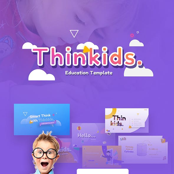 Thinkids - Fun Games & Education KeynoteTemplate
