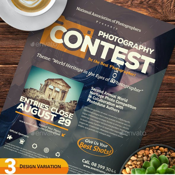 Photography Contest Flyers