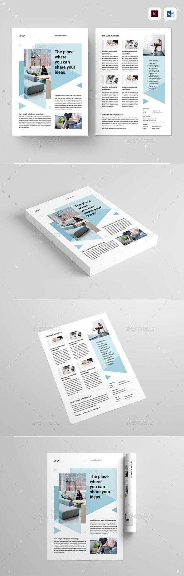 Flyer - Corporate Brochures