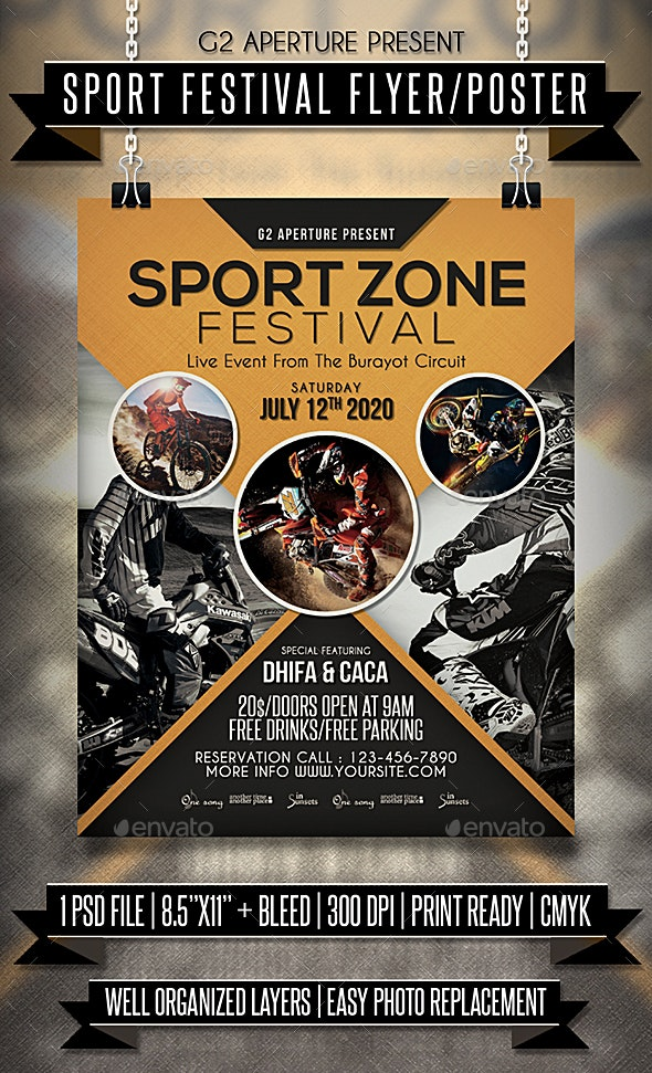 Sport Festival Flyer / Poster - Events Flyers