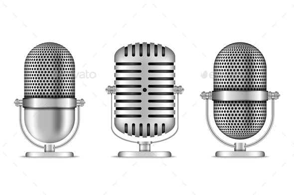 Microphones - Man-made Objects Objects