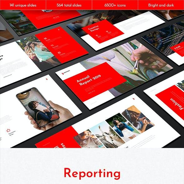 Reporting Multipurpose Google Slides Template