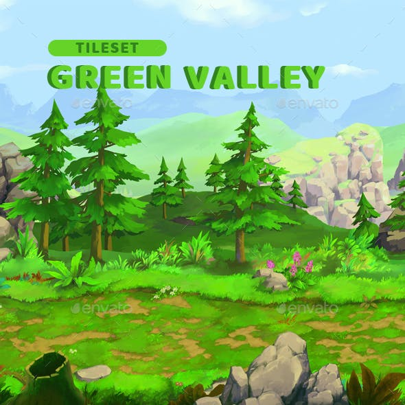 Green Valley - Game Background